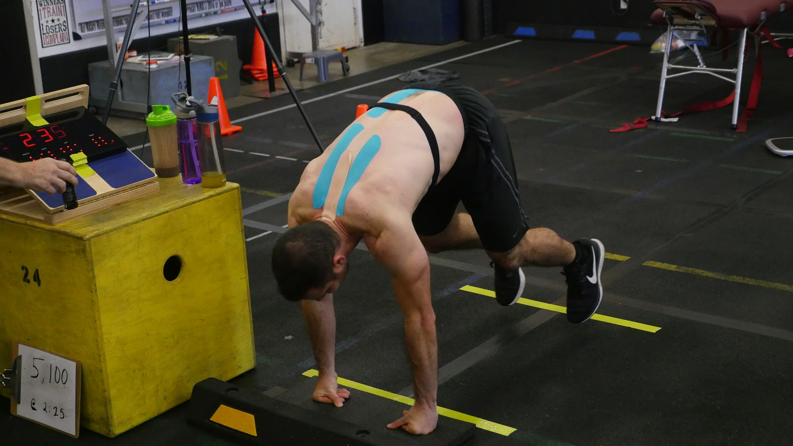 Michael Aliotti Burpees Event | Get Your Gusto Back