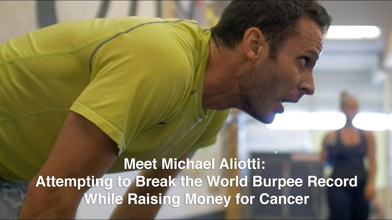 Why Did Michael Aliotti Do 7,000+ Burpees? | Get Your Gusto Back