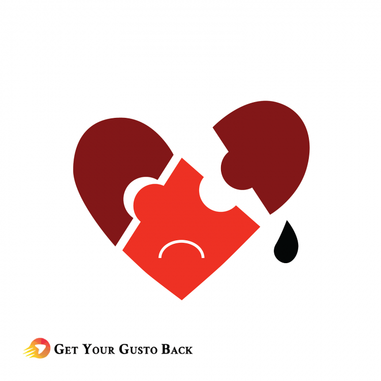 Broken Heart From Abuse | Get Your Gusto Back