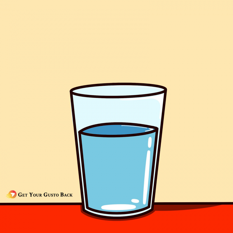 Drink Water in The Morning | Get Your Gusto Back
